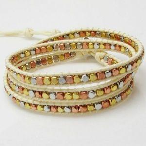 NEW Handmade 3 Wrap Bracelet Katie Soleil
